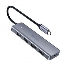 UGREEN - UGREEN USB-C to 4x USB 3.0 A HUB Hub - USB adapters - UG-70336