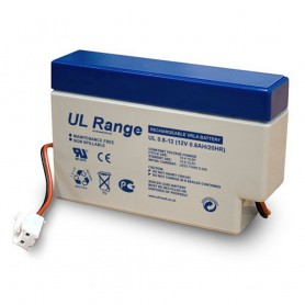 Ultracell - Ultracell VRLA / Lead Battery 800mAh 12V (UL0.8-12) - Battery Lead-acid - BS329