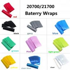 50 Pieces 20700/21700 Battery PVC Heat Shrink Tubing Tube Wrap
