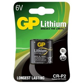 GP - GP CR-P2 6V Lithium Battery - Other formats - BS488