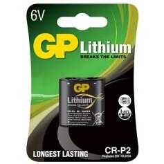 GP CR-P2 6V Lithium Battery