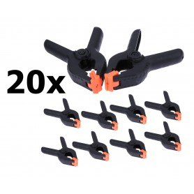 unbranded - 20x Market Clamps - DIY Glue Clamp - Market Clamp - Sail Clamp - Other tools - AL1100-00