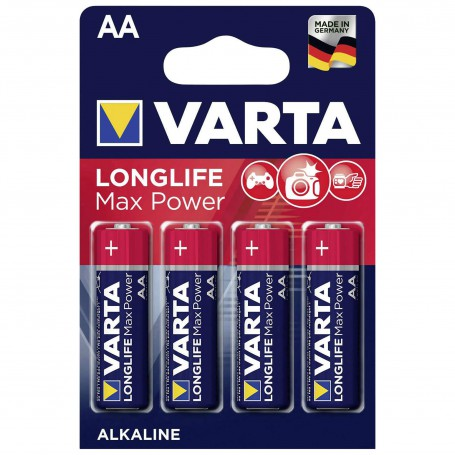 Varta, VARTA Max Tech LR6 / AA / R6 / MN 1500 1.5V Alkaline battery, Size AA, BS155-CB