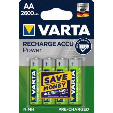 Varta, Varta Rechargeable Battery AA HR6 2600mAh, Size AA, ON1325-CB