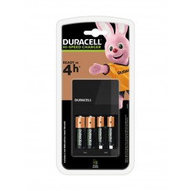 Duracell - 4h Duracell battery charger + 2x AA 1300mAh + 2x AAA 750mAh - Battery chargers - BL360