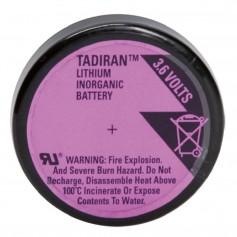 Tadiran SL-889/ 1/10 D Lithium battery with 3 solder pins
