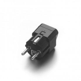 Oem - US AU UK to EU Black - Universal Travel Plug Adapter Converter - Plugs and Adapters - EP0015