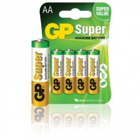GP, GP Super Alkaline AA/LR6 1.5V, Size AA, BS493