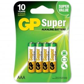 GP, GP Super Alkaline AAA LR03/1.5V Battery, Size AAA, BS494