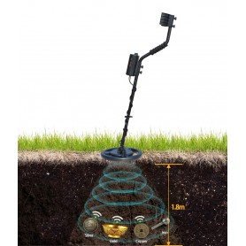 unbranded, Metal Detector AR944M 1.8m depth Scanner Gold Digger Treasure Finder tool, Other tools, AL1107-00