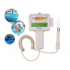 unbranded - Electronic Tester PC-101 swimming pool spa water PH CL2 Chlorine tester - Test equipment - AL1108-00