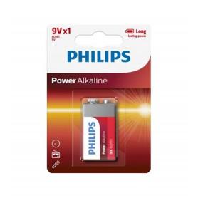 PHILIPS, Philips 9V 6LR61 Alkaline, Other formats, BS496