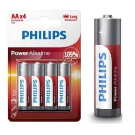 PHILIPS, PHILIPS AA R3 Power Alkaline, Size AA, BS498