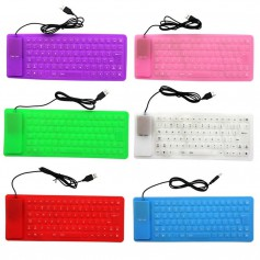 Flexible USB Keyboard - Full Size