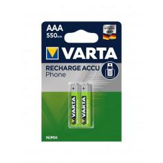 Varta - Varta AAA 550mAh rechargeable phone battery - Size AAA - BS501