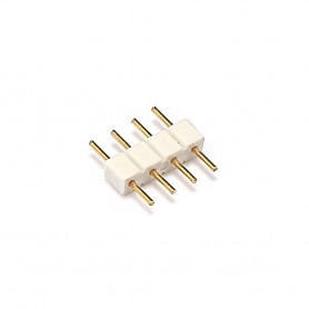 Oem - 10x 10mm 4pin Male-Male RGB LED Strip Connector - LED connectors - LSC47
