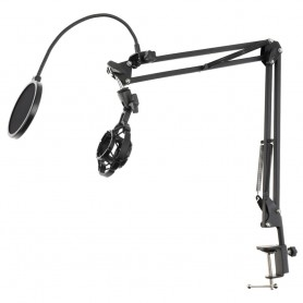 Oem, Multifunction PMP-52O Microphone Stand With LED Light, Phone holder and POP-Filter, Various computer accessories, AL235-100