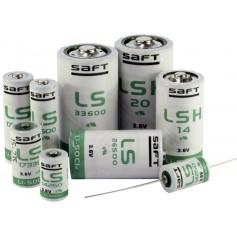 SAFT, SAFT LS 33600 D-Format lithium battery 3.6V - With Solder Lips, Size C D 4.5V XL, NK101-TAG-CB