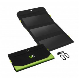 Green Cell, GREEN CELL 10.000mAh Mini Solar Power Station, Solar Powerbank 2x USB 1x USB-C 18W PD - Ultimate backpack solutio...