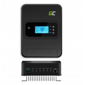 Green Cell, GREEN CELL MPPT 30A Solar controller / charging regulator for 12V/24V/36V/48V - PV 145V (VOC), Solar controller, ...