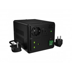 Green Cell - GREEN CELL Voltage converter transformer 110V 230V / 230V 100V - 800W / 1000W EU UK USA - Plugs and Adapters - G...