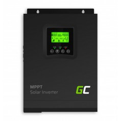 Green Cell - GREEN CELL Solar Inverter Off Grid converter with MPPT Solar Charger for 24VDC 230VAC 3000VA/3000W Pure Sine Wav...