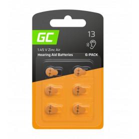 Varta - GREEN CELL 13 P13 PR48 ZL2 ZincAir Hearing aidbatteries - Hearing batteries - GC100-13-CB
