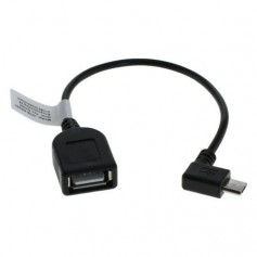 Oem - Micro USB OTG Cable Adapter for Smartphones Tablets Camcorders - Other data cables  - ON034