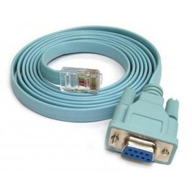 Oem - 1.5m RJ45 to RS232 COM Port Serial DB9 Female Cable AL555 - RS 232 RS232 adapters - AL555
