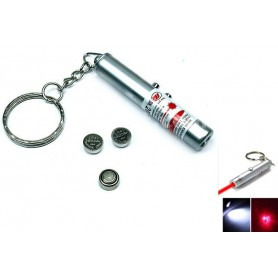 NedRo - 2in1 laser pointer + Led Keychain Light YOO004 - Flashlights - YOO004-CB