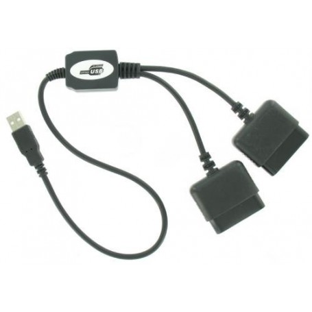 NedRo - Duo Converter adapter for PlayStation 1 and PS2 to PC - PlayStation 1 - YGU004 www.NedRo.us