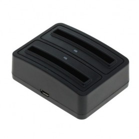 OTB - Dual Battery Chargingdock for Galaxy S III i9300 / EB-L1G6LLA - Ac charger - ON3003 www.NedRo.us