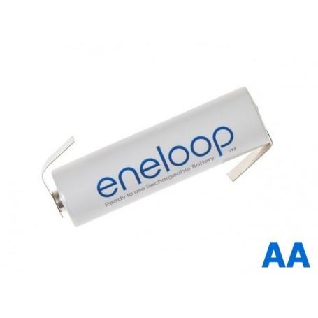 Eneloop - Panasonic Eneloop AA HR6 R6 battery with Z-tags - Size AA - NK003-CB