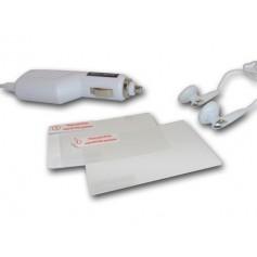 Nintendo DS Lite Starter kit 4 in 1 white