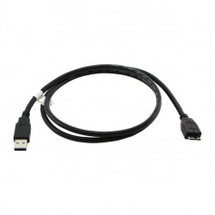 Data Cable USB-3 A to Micro-USB B Black 1M