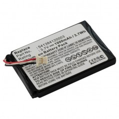 Battery for Navigon 72 Easy / 72 Plus Live Li-Ion ON2334