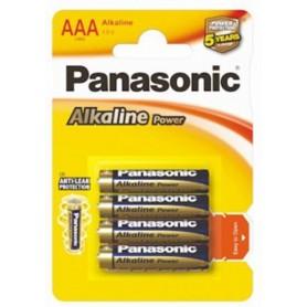 Panasonic - Panasonic Alkaline Power LR03/AAA - Size AAA - BL039-CB www.NedRo.us