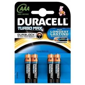 Duracell, 4x Duracell Duralock Turbo Max AAA LR03, Size AAA, BL057, EtronixCenter.com