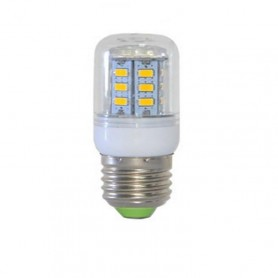 Oem - 7W E27 Warm White 24 LED`s SMD5730 Corn Bulb AL123 - E27 LED - AL123
