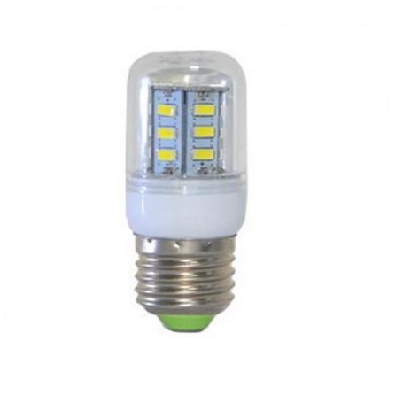 Oem - 7W E27 Cold White 24 LED`s SMD5730 Corn Bulb AL124 - E27 LED - AL124