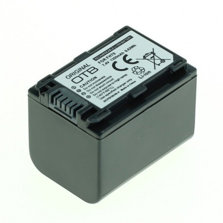 OTB - Battery for Sony NP-FH70 / NP-FP70 Li-Ion 1300mAh ON2585 - Sony photo-video batteries - ON2585