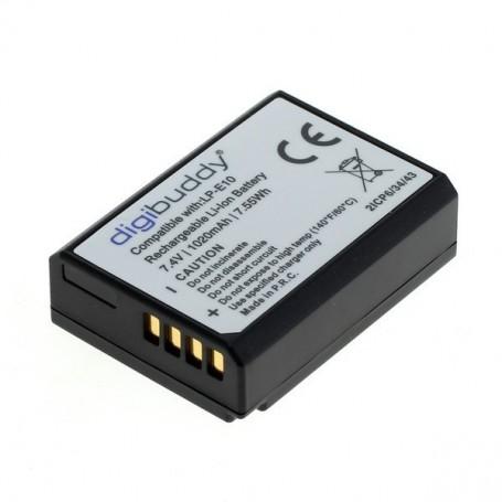 digibuddy, Battery for Canon LP-E10 1020mAh Li-Ion, Canon photo-video batteries, ON3219, EtronixCenter.com