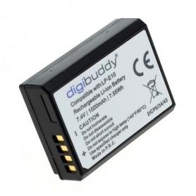 digibuddy - Battery for Canon LP-E10 1020mAh Li-Ion - Canon photo-video batteries - ON3219 www.NedRo.us