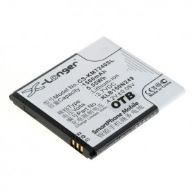 OTB - Battery for Kazam Trooper2 4.0 / Trooper 2 4.0 1500mAh ON2651 - Other brands phone batteries - ON2651 www.NedRo.us