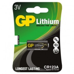 GP CR123 CR123A DL123A CR17345 lithium battery