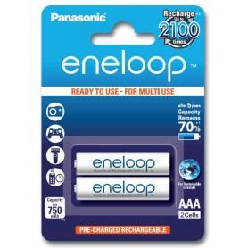 Eneloop - Panasonic Eneloop R3 AAA Rechargeable Battery - Size AAA - BS285-CB www.NedRo.us