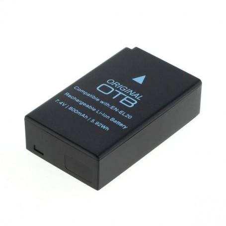 OTB - Battery for Nikon EN-EL20 EN-EL20a 800mAh - Nikon photo-video batteries - ON2658