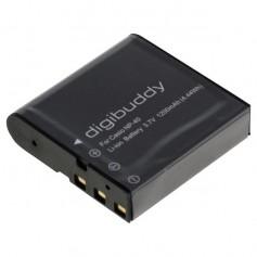 digibuddy - Battery for Casio NP-40 Kodak LB-060 1200mAh - Casio photo-video batteries - ON2660