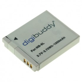 digibuddy - Battery for Canon NB-6L 1000mAh - Canon photo-video batteries - ON2671