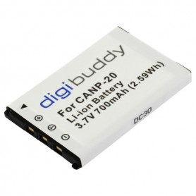 digibuddy, Battery for Casio NP-20 Li-Ion 700mAh, Casio photo-video batteries, ON2672
